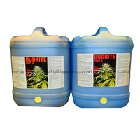 Budrite Hydroponic Nutrient A & B  (Available in 5 & 20Ltrs sets)