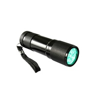 Compact LED Green Flashlight