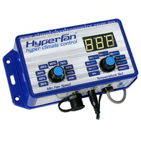 Hyper Climate Control Dual Fan Controller - Operate Both Inlet & Outlet Fans