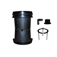 Hydroponic 50L Pot Set  - Top, Bottom & Stand set with feedring and plumbing